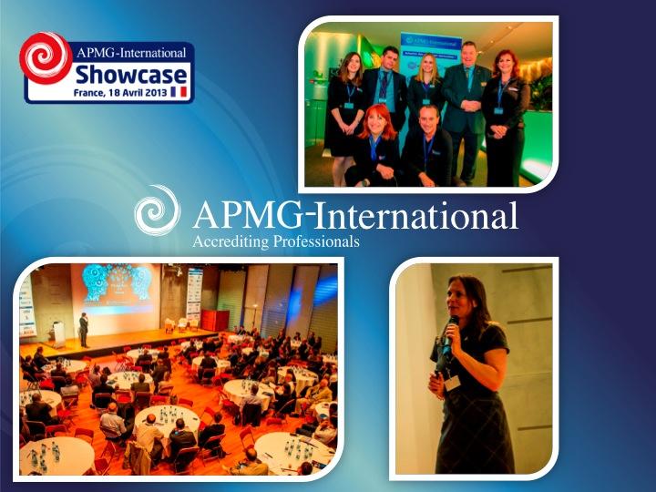 Presentation P3O @ APMG France Showcase available